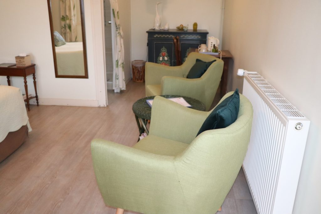 Chambre Houlgate nouveaux fauteuils