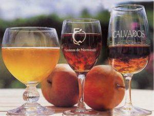 Cidre, pommeau et calvados