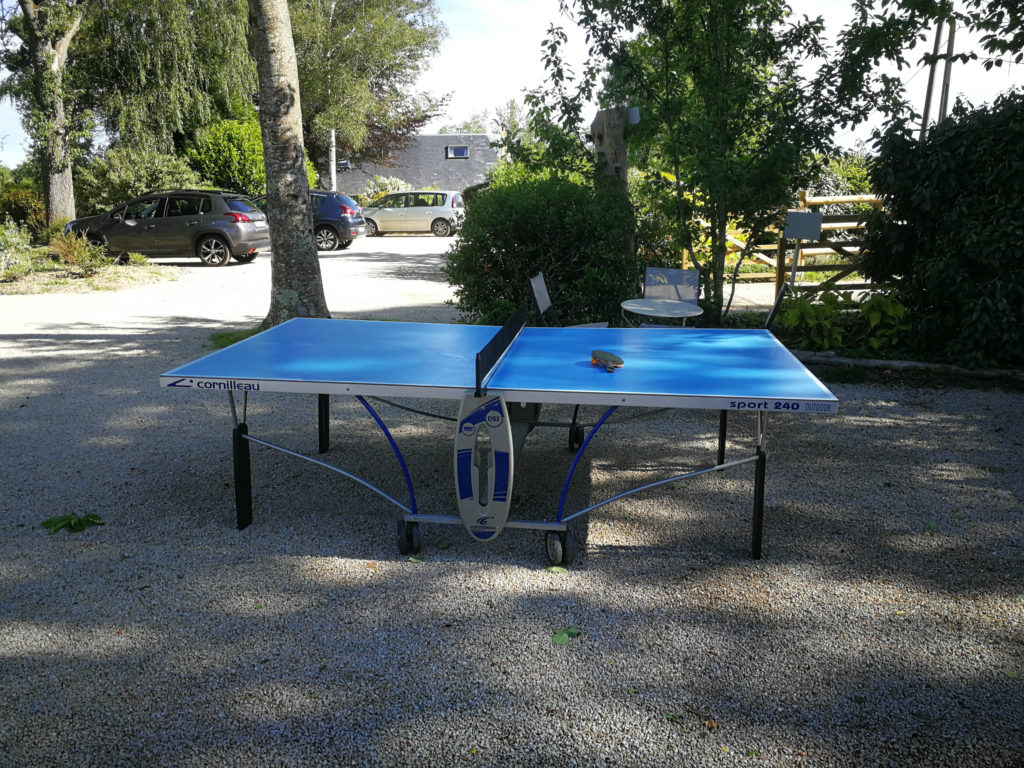 la table de ping pong