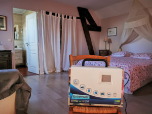 machine à ozone pour désinfection des chambres
